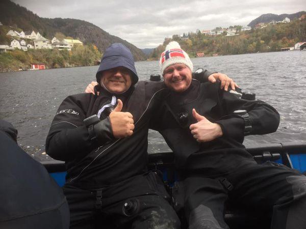 tosser på tur i Flekkefjord